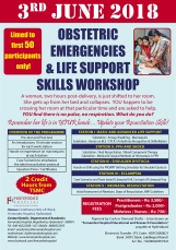 Obstetric Emergencies and Life Support Skills Workshop 2018