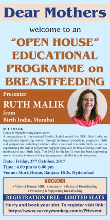 Open House Educational Programme on Breastfeeding