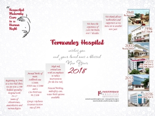 Fernandez Hospital wishes you and your loved ones a blessed new year 2018