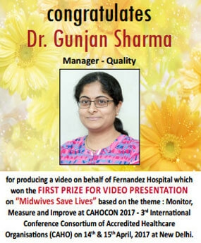 Congratulations Dr. Gunjan Sharma