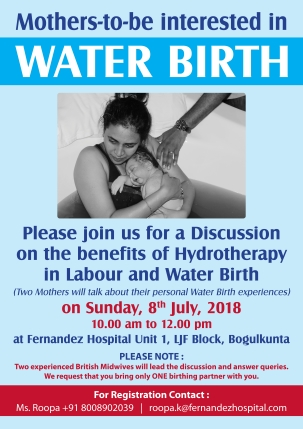 Discussion on Water Birth