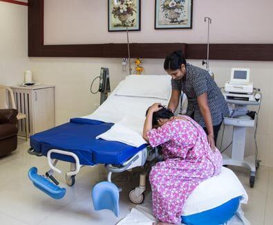 Emergency Patient In Labour Room